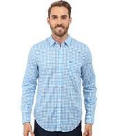 Lacoste - Cotton Voile Check Print Shirt