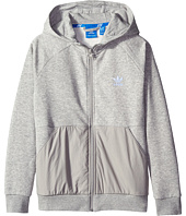 adidas Originals Kids - Sport Luxe Full Zip Hoodie (Little Kids/Big Kids)