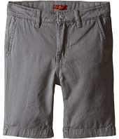 7 For All Mankind Kids - Four-Pocket Classic Twill Shorts (Little Kids/Big Kids)