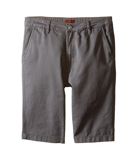 7 For All Mankind Kids Four-Pocket Classic Twill Shorts (Big Kids)