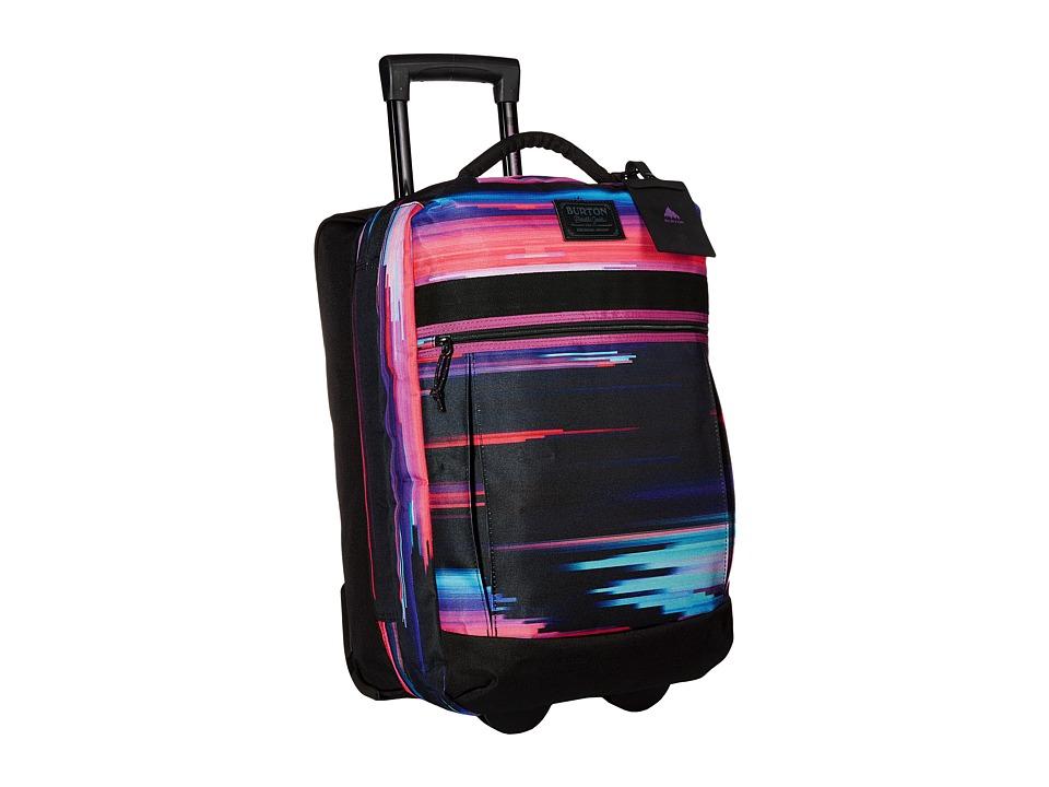 Burton - Overnight Roller (Glitch Print) Luggage