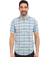 Lacoste - Segment 1 Short Sleeve Poplin Check Regular Fit
