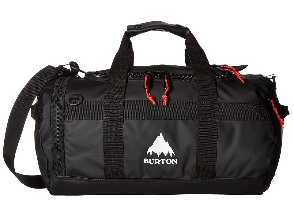 Burton Backhill Duffel X-Small 25L (True Black Tarp) Duffel Bags
