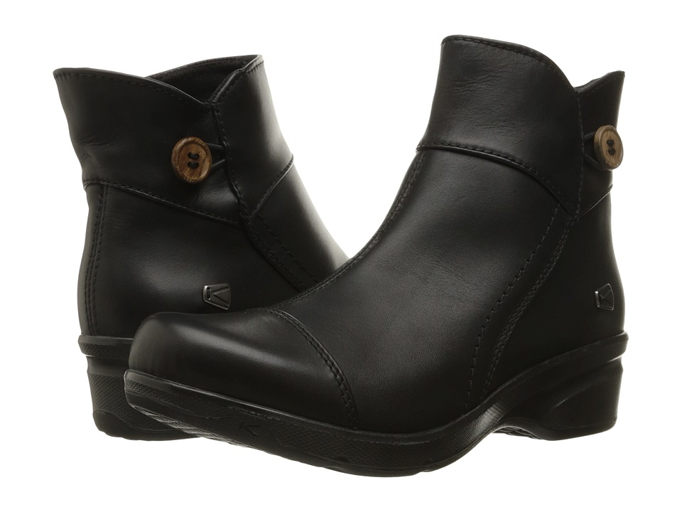 Keen - Mora Mid Button (Black) Women