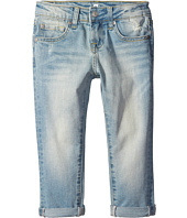 7 For All Mankind Kids - Josefina Five-Pocket Skinny Boyfriend Jeans in 3 Light Sky (Little Kids)