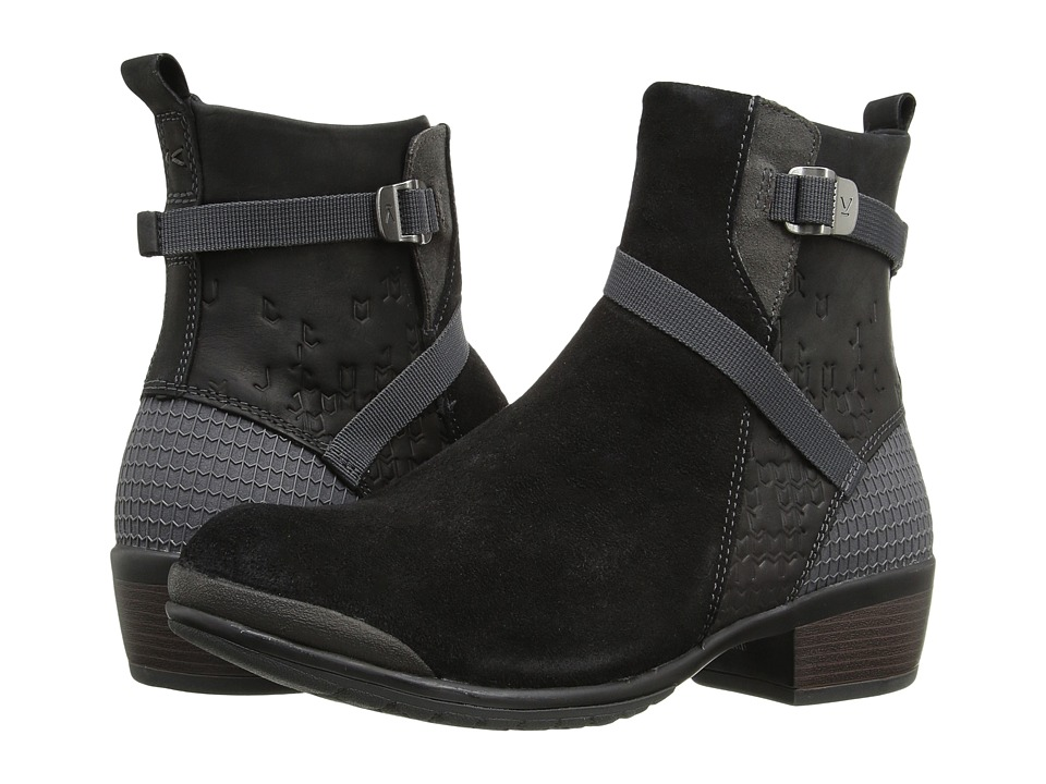 Keen Morrison Mid (Black/Black) Women's Shoes