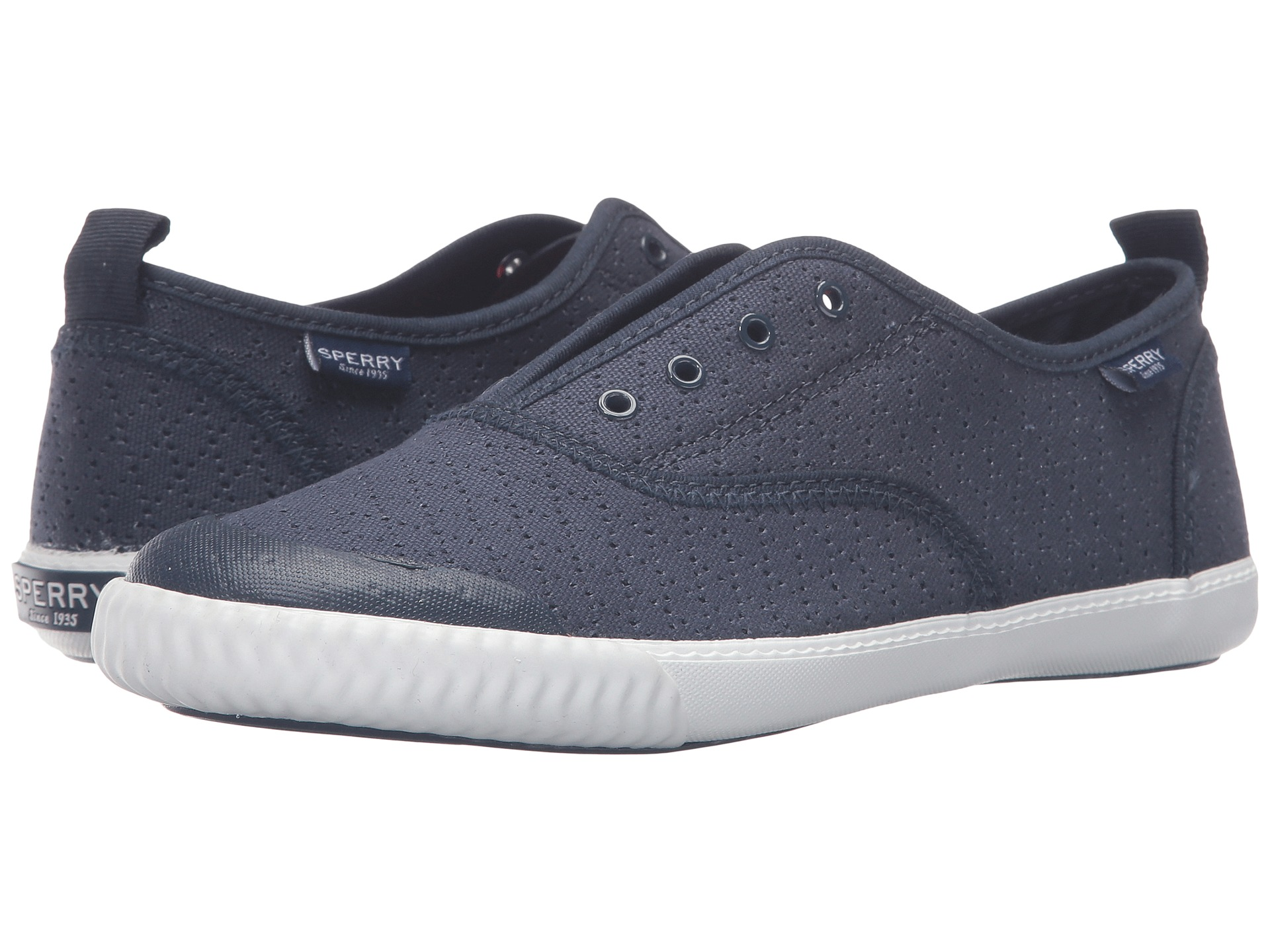 sperry top sider sayel clew perf canvas zappos free