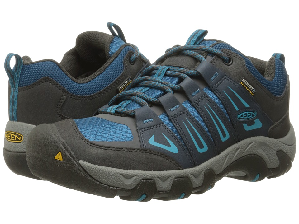Keen - Oakridge Waterproof (Raven/Seaport) Women