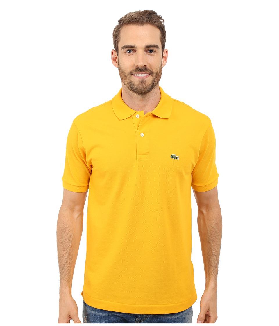 Lacoste - L1212 Classic Pique Polo Shirt (Buttercup) Men