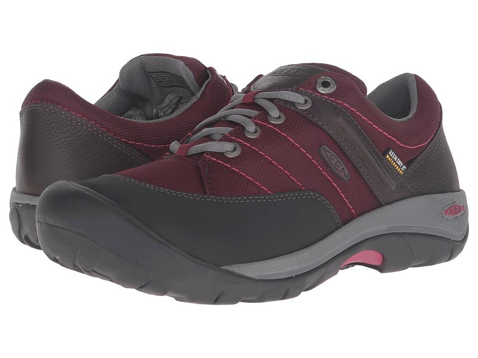 Keen Presidio Sport Mesh WP (Zinfandel) Women's Shoes