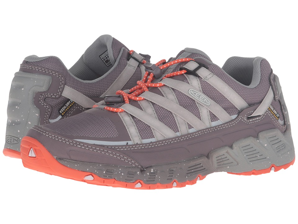 Keen - Versatrail Waterproof (Shark/Tiger Lily) Women