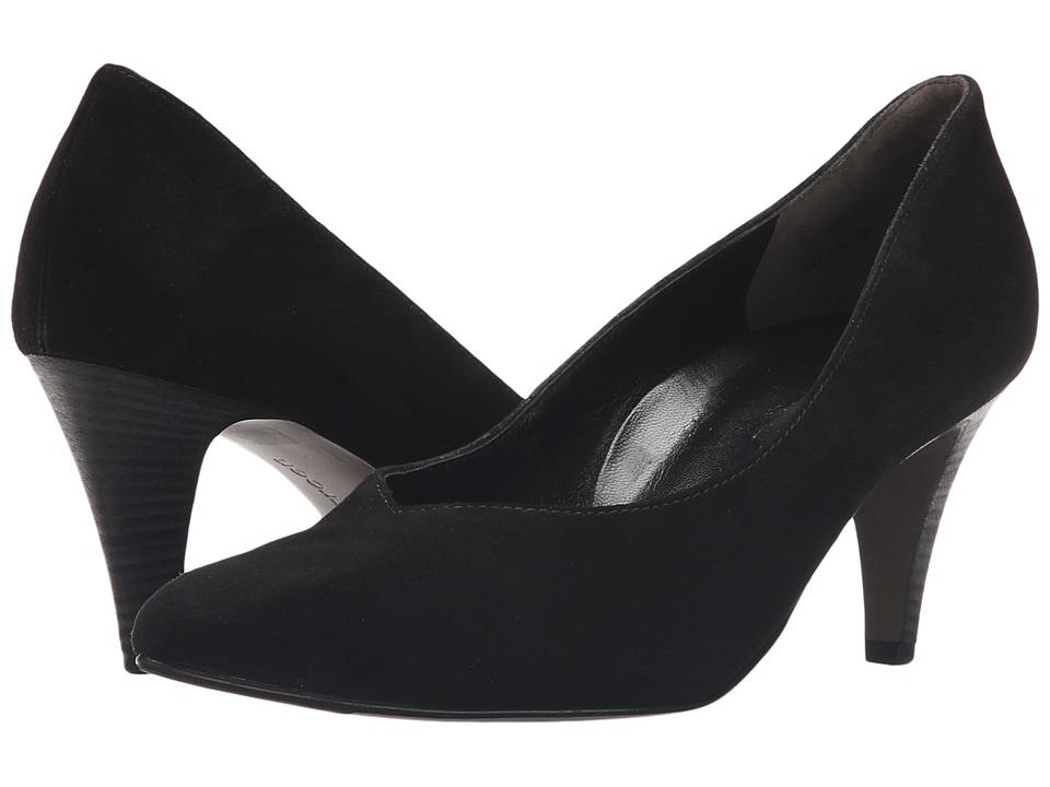 Paul Green - Halle Pump (Black Suede) High Heels