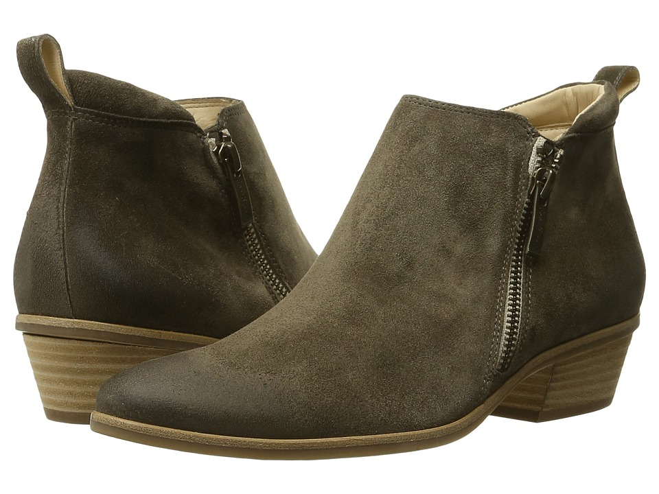 Paul Green Jillian Bootie (Coriander Suede) Women