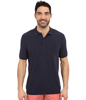 Lacoste - Short Sleeve Garment Dyed Slub Pique Polo Shirt