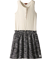 7 For All Mankind Kids - Slub Jersey Henley Tank Dress (Big Kids)