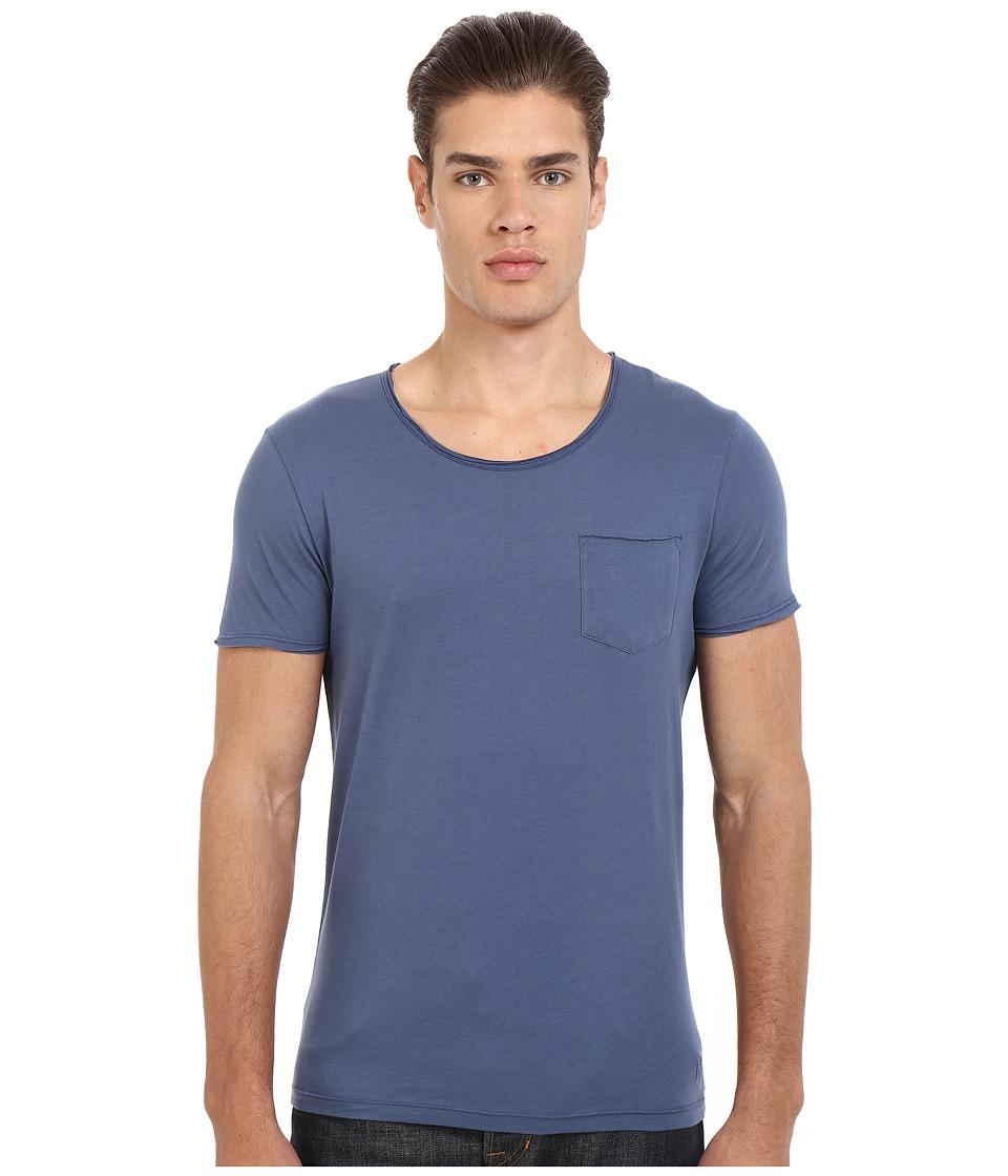 Mavi Jeans Basic Crew Neck Tee Vintage Indigo Mens T Shirt
