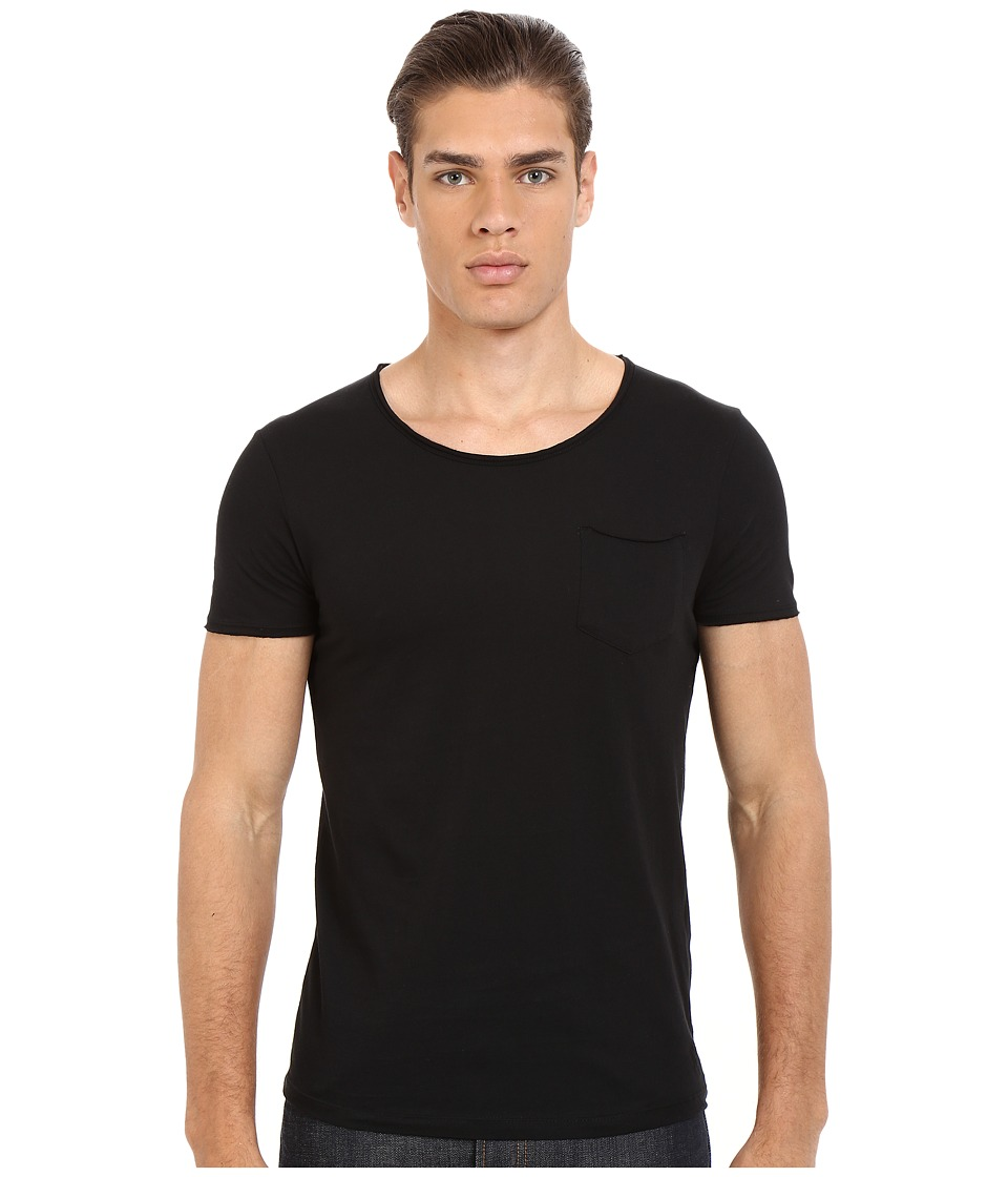 Mavi Jeans Basic Crew Neck Tee Black Mens T Shirt