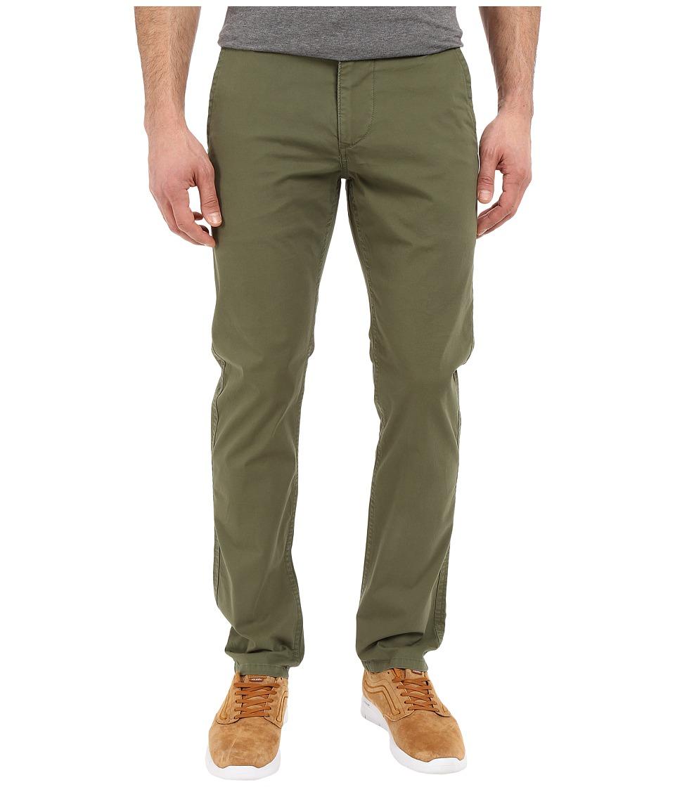 Dockers Mens Alpha Original Khaki Deep Moss Mens Casual Pants