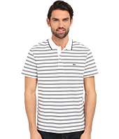 Lacoste - Short Sleeve Pique/Jersey Stripe Polo