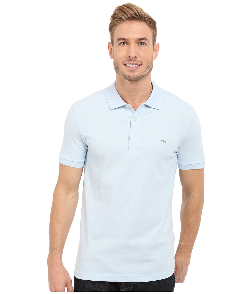 Lacoste Stretch Petit Pique Slim Fit Polo (Rill) Men's Sh...