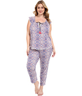 Lucky Brand - Plus Size Knit Tassel Pajama