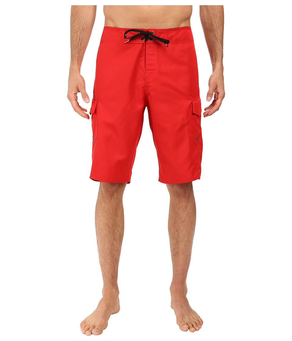 Quiksilver Manic 22 Boardshorts (Quik Red) Men