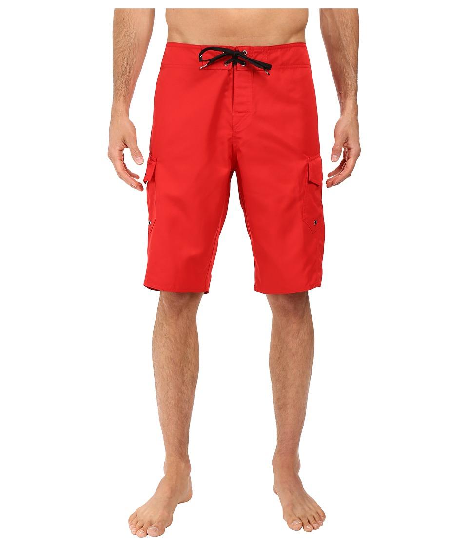 Quiksilver Manic 22 Boardshorts (Quik Red) Men