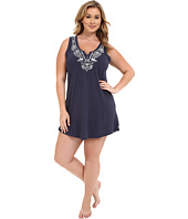 Lucky Brand - Plus Size Embroidered Chemise