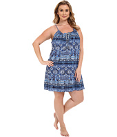 Lucky Brand - Plus Size Knit Tassel Chemise