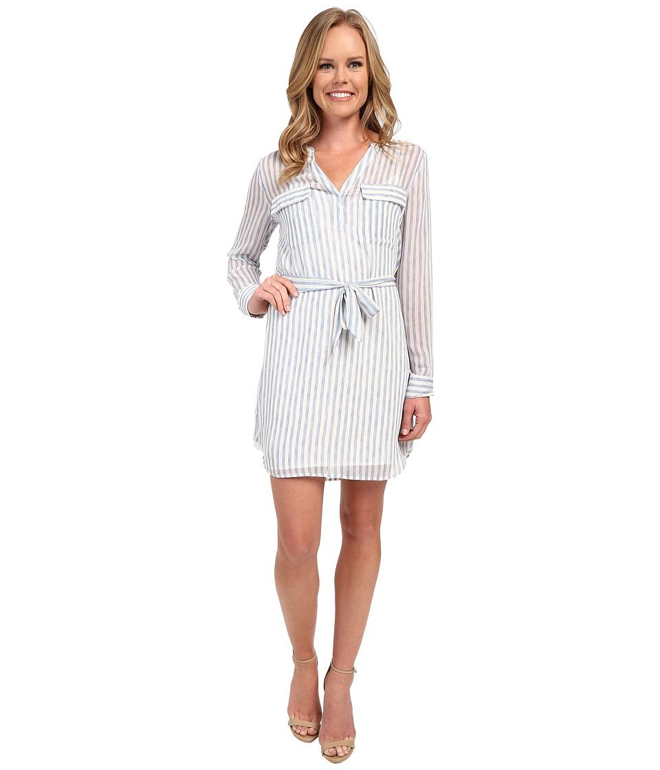 Sanctuary Spring City Shirtdress Laundry Stripe Womens Dress