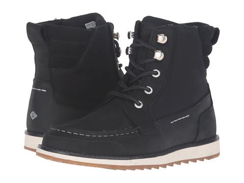 Sperry Top-Sider Kids Dockyard Boot (Little Kid/Big Kid) - Black