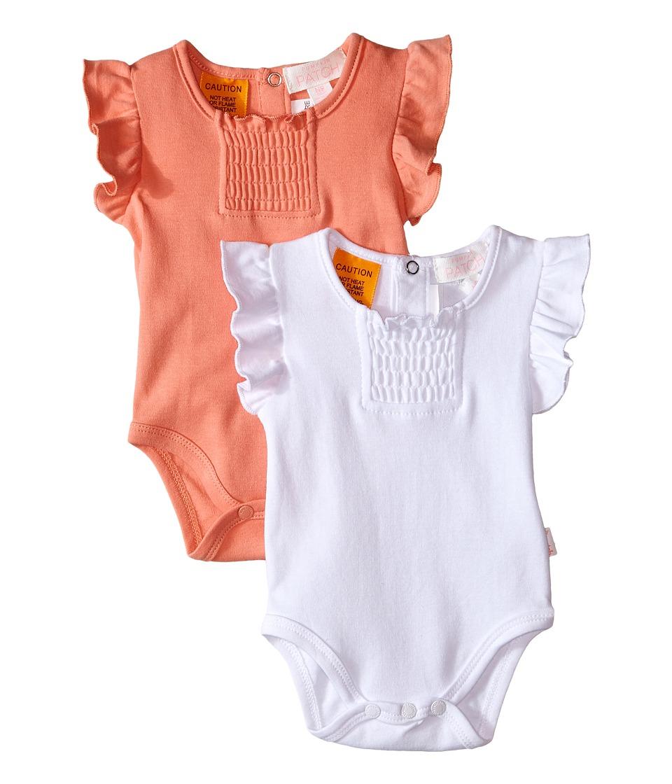 Pumpkin Patch Kids 2 Pack Bodysuit Infant Desert Flower Girls Jumpsuit Rompers One Piece
