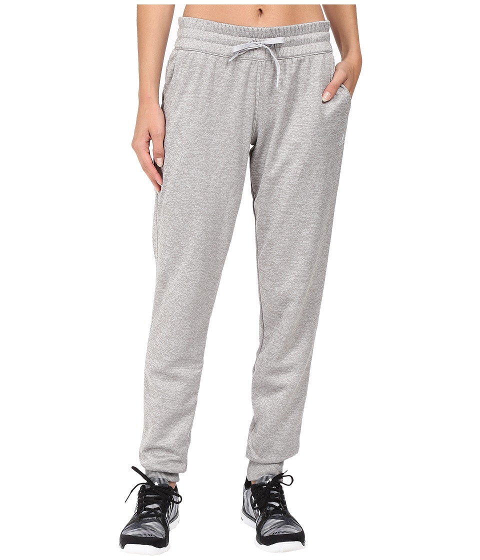 adidas - Team Issue Fleece Jogger Pants (Light Grey Heather) Women
