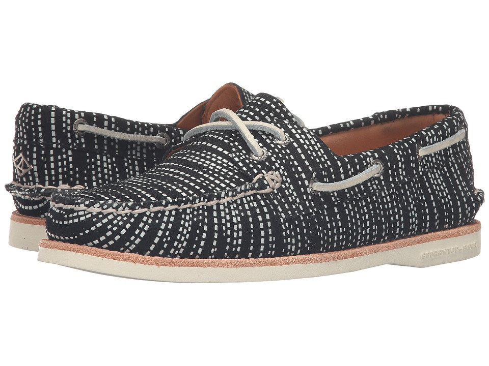 Sperry Top-Sider Gold Cup A/O Seasonal (Black/White) Women