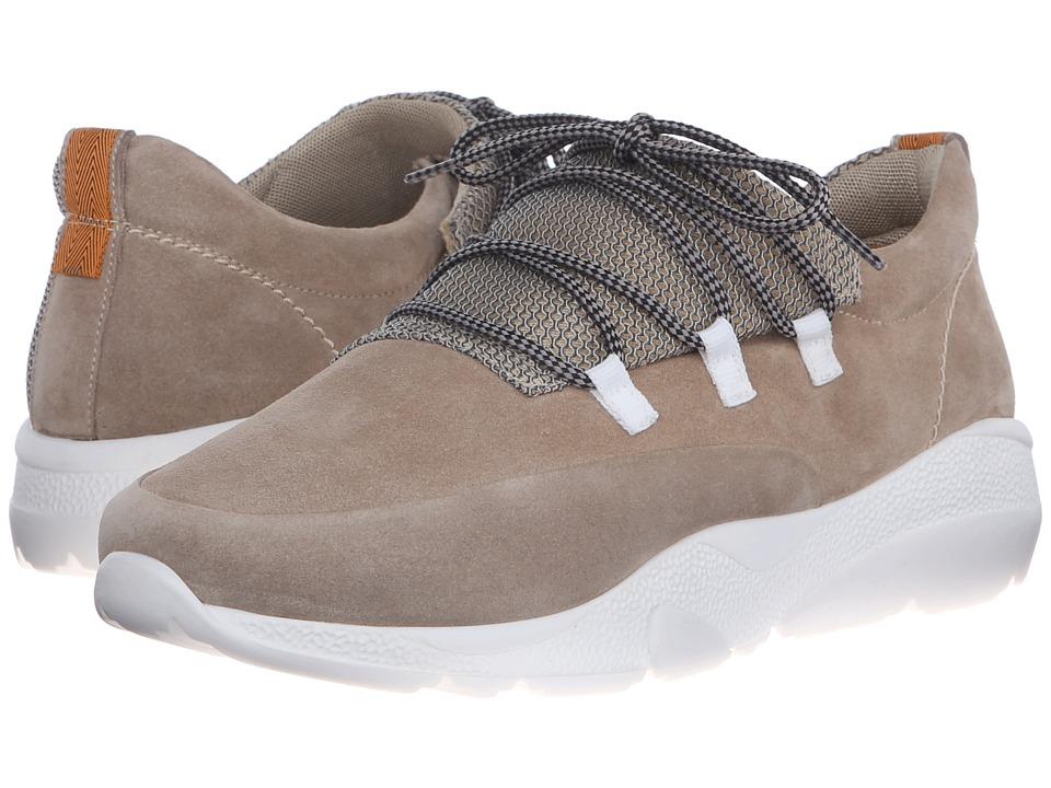 CASBIA Seth Split Suede Sand Mens Shoes