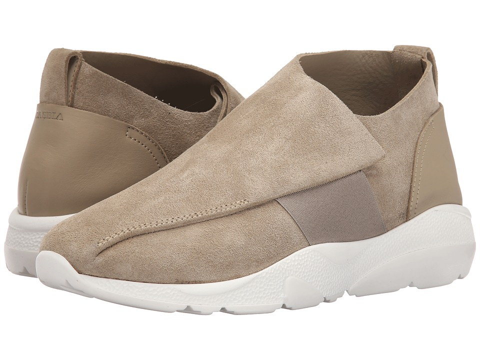 CASBIA Vetta Reversed Calf Sand Mens Shoes