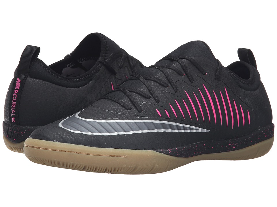 Nike - MercurialX Finale II IC (Black/Pink Blast/Gum Light Brown/Black) Men