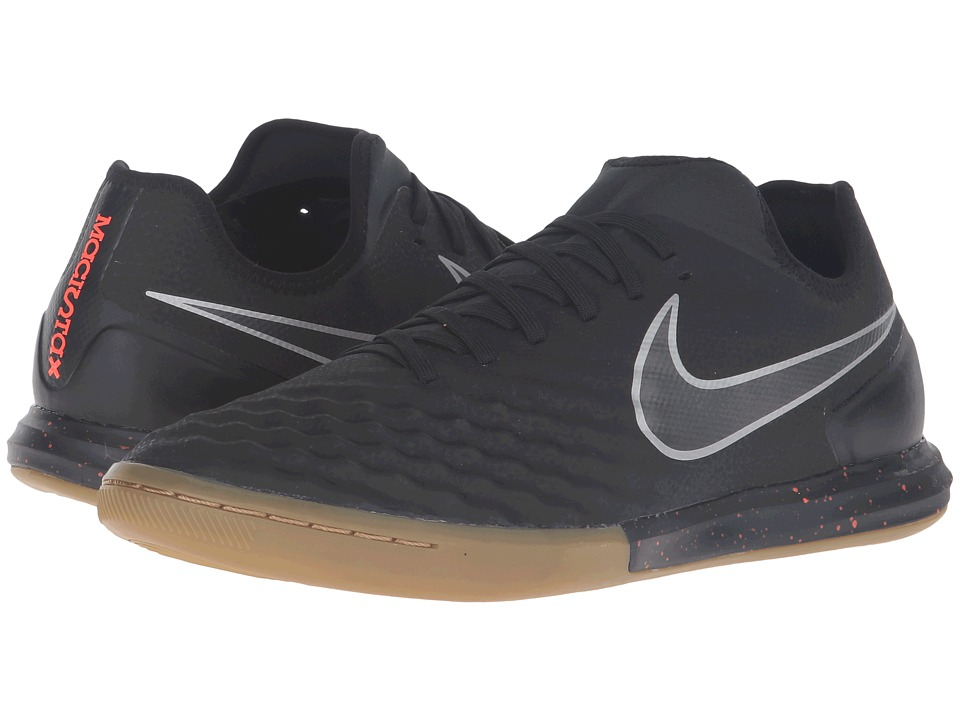Nike - Magistax Finale II IC (Black/Total Crimson/Gum Light Brown/Black) Men