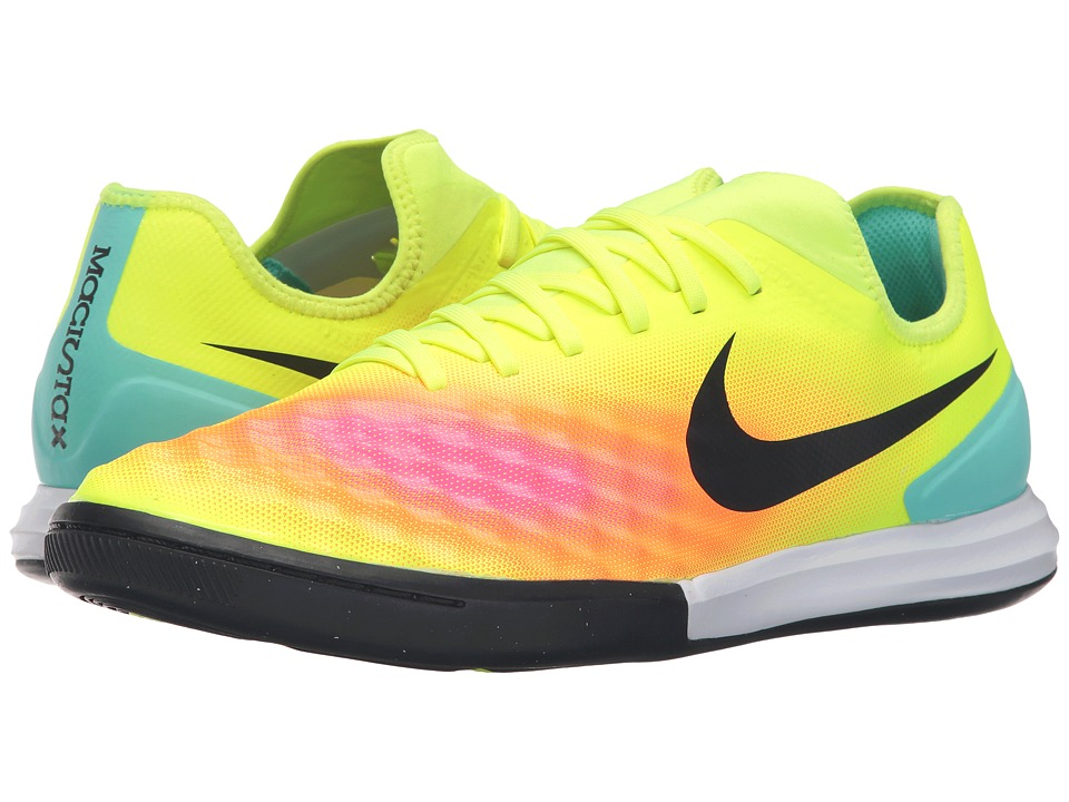 Nike - Magistax Finale II IC (Volt/Total Orange/Pink Blast/Black) Men