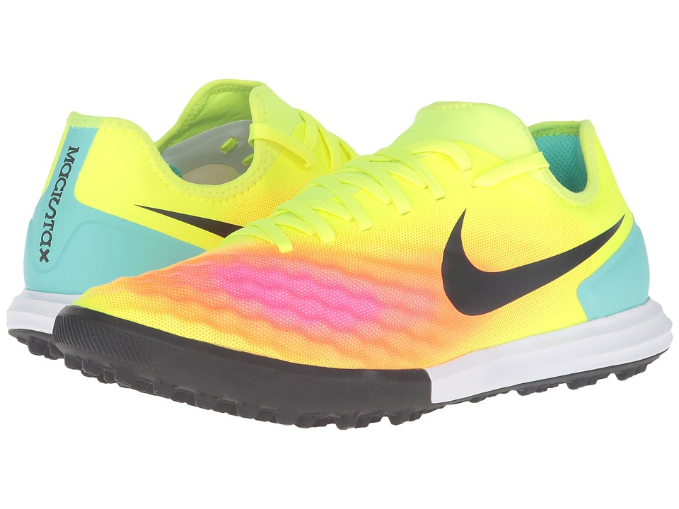 Nike - Magistax Finale II TF (Volt/Total Orange/Pink Blast/Black) Men