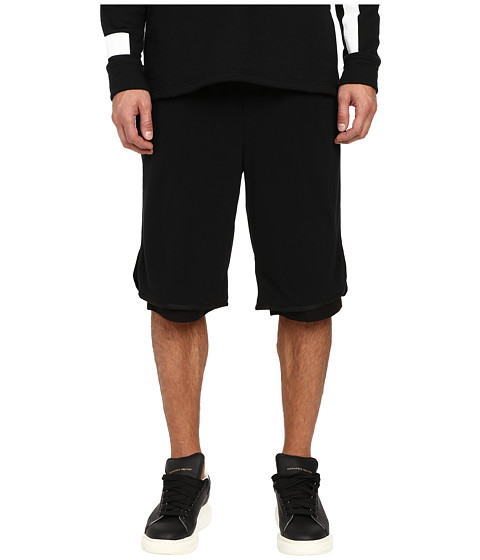 DBYD Mesh Layered Jersey Shorts