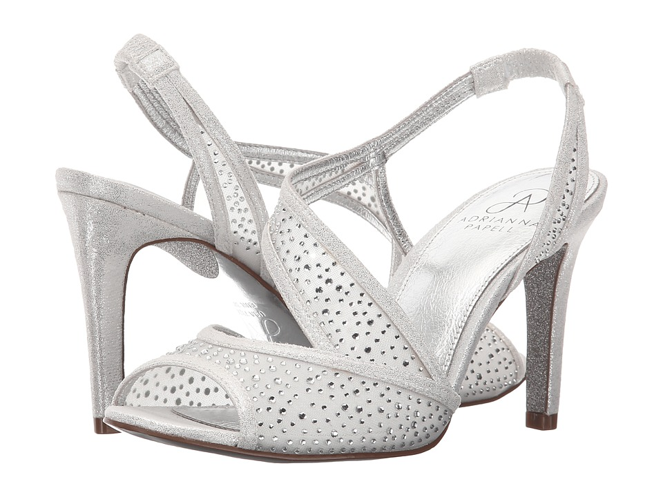 Adrianna Papell Andie Silver Womens Sling Back Shoes