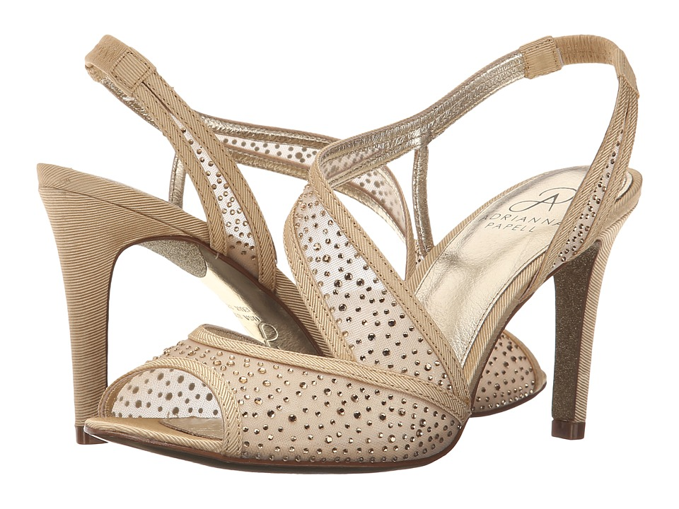 Adrianna Papell Andie Powder Sand Womens Sling Back Shoes