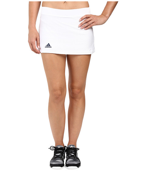 adidas Club Primefit Skort - White/Collegiate Navy