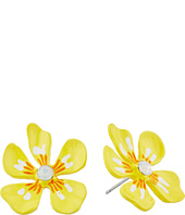 Betsey Johnson - Luminous Betsey Flower Stud Earrings II