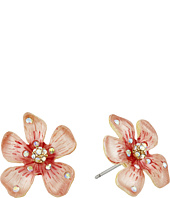 Betsey Johnson - Luminous Betsey Flower Stud Earrings