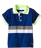 Pumpkin Patch Kids - Color Block Stripe Polo (Infant)