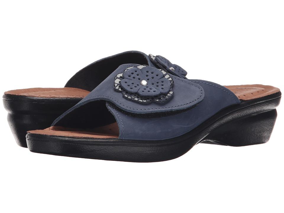 Flexus Fabia Blue Womens Shoes