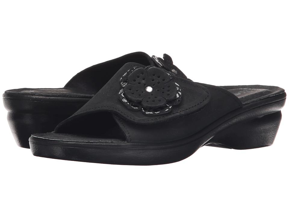 Flexus Fabia Black Womens Shoes
