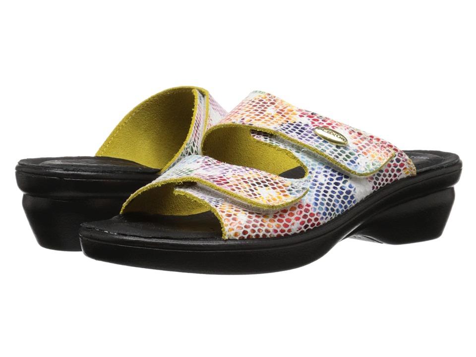 Flexus Kina White Womens Shoes